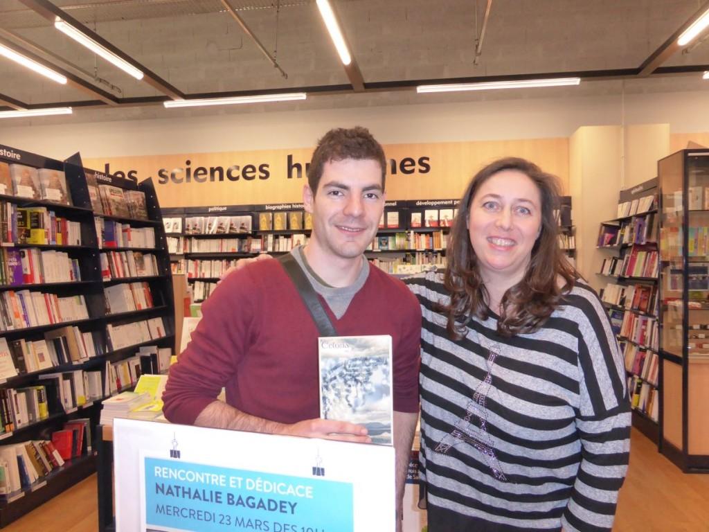 Nathalie Bagadey - Cultura - 23/03/16 avec Jérôme, nouveau lecteur
