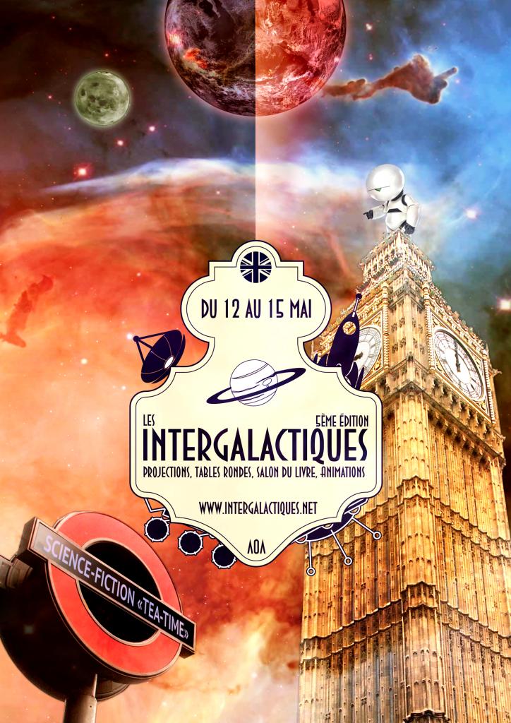 Affiche Intergalactiques 2016