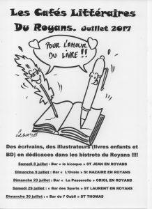 agenda - cafés littéraires
