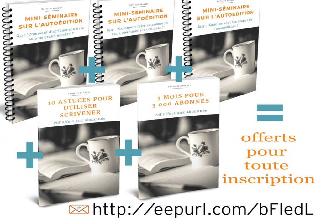 package pdfs inscription newsletter autoédition