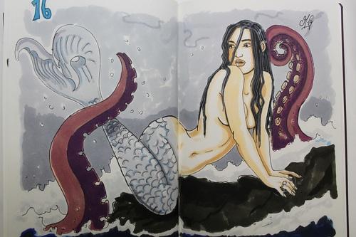 retours sur Kassandra - fan art Aemarielle
