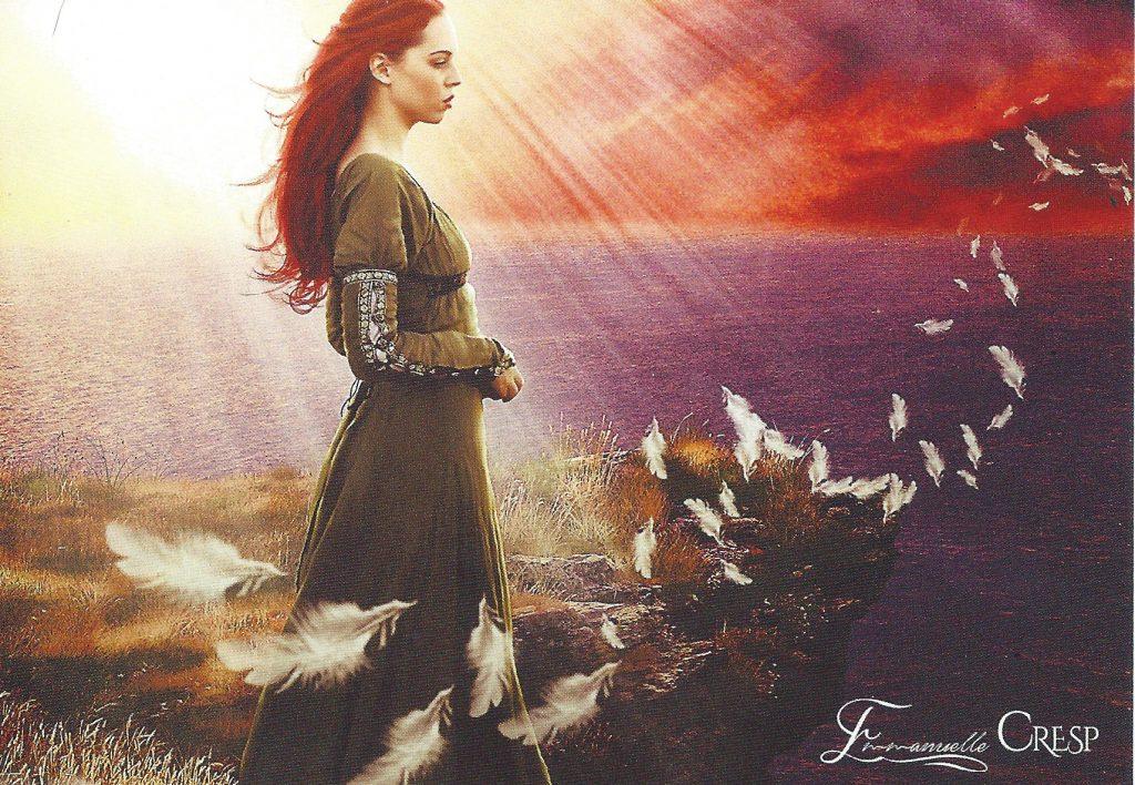 Scan d'une carte offerte par Emmanuelle