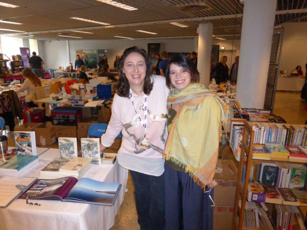 Avec Émilie - dédicace d'Éclosia