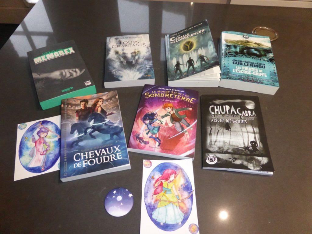 Aventuriales 2016 côté visiteur - book haul