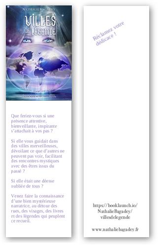 Sortie de Villes de légende - J-6 - les marques-pages