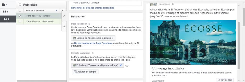 Publicités Facebook 5