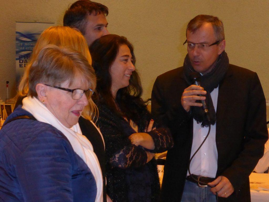 Peyrolles en Provence 2017 - Le maire et les organisateurs