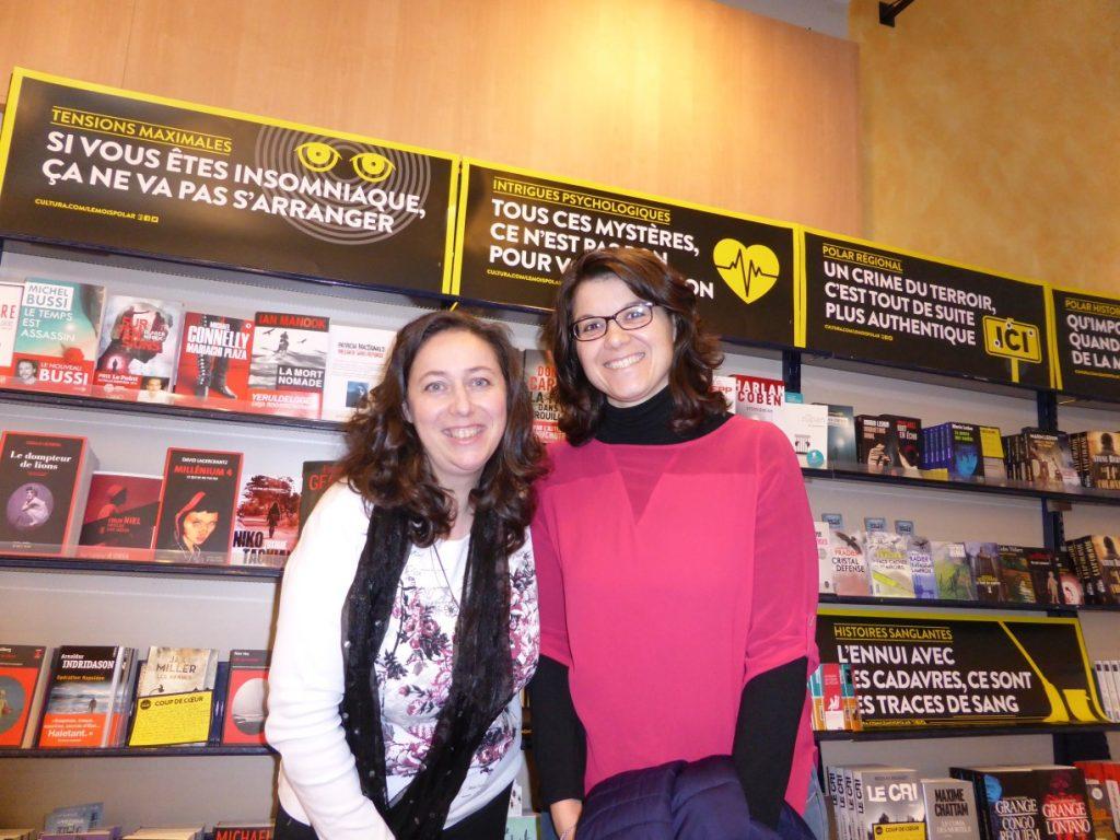 """dédicaces au Cultura Valence - Amandine pour """"Kassandra et la Grèce des légendes"""""""