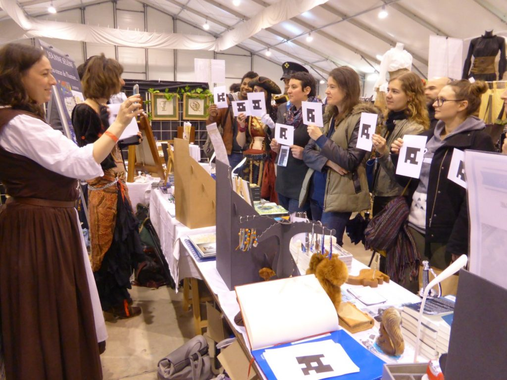"Salon Fantastique Paris 2 - Quiz ""gentille ou méchante"""