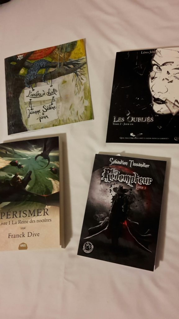 Salon Fantastique Paris 2 - book haul