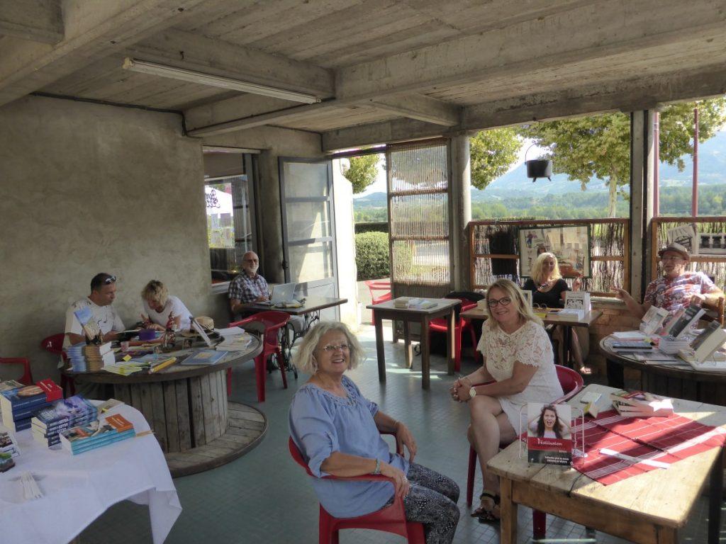 Cafés littéraires Royans - salle