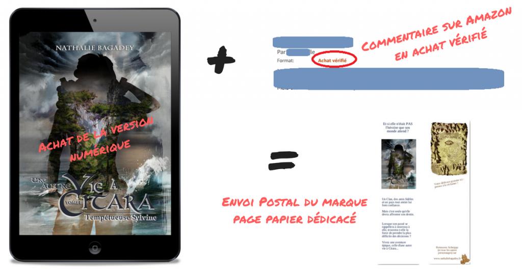 lancement Citara - cadeau commentaire ebook
