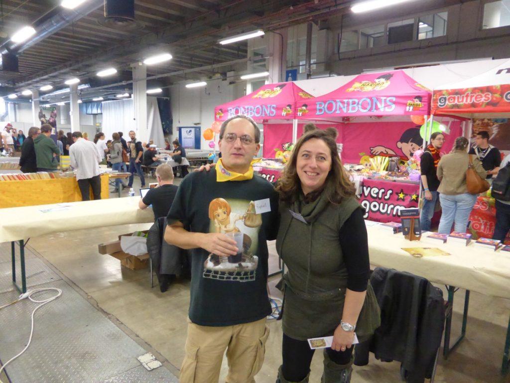 OctoGônes 2017 - avec l'un des bénévoles