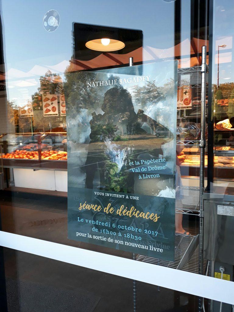 Dédicaces Livron - affiche Boulangerie