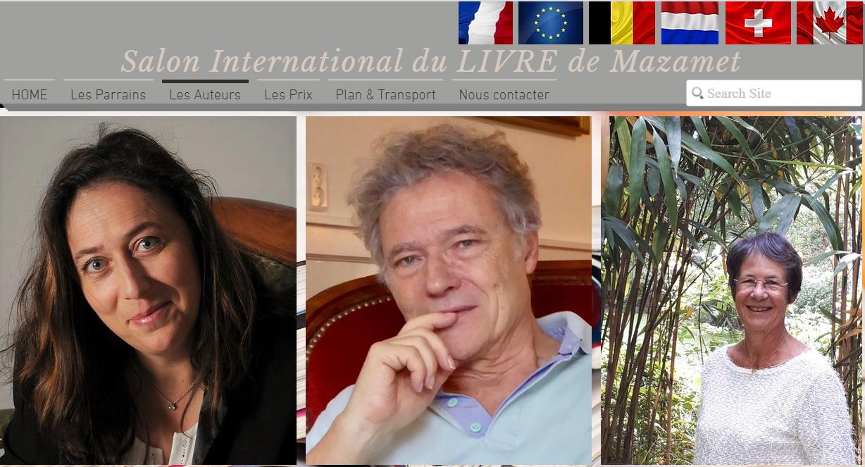 M. Sabarthès - Salon international du Livre de Mazamet